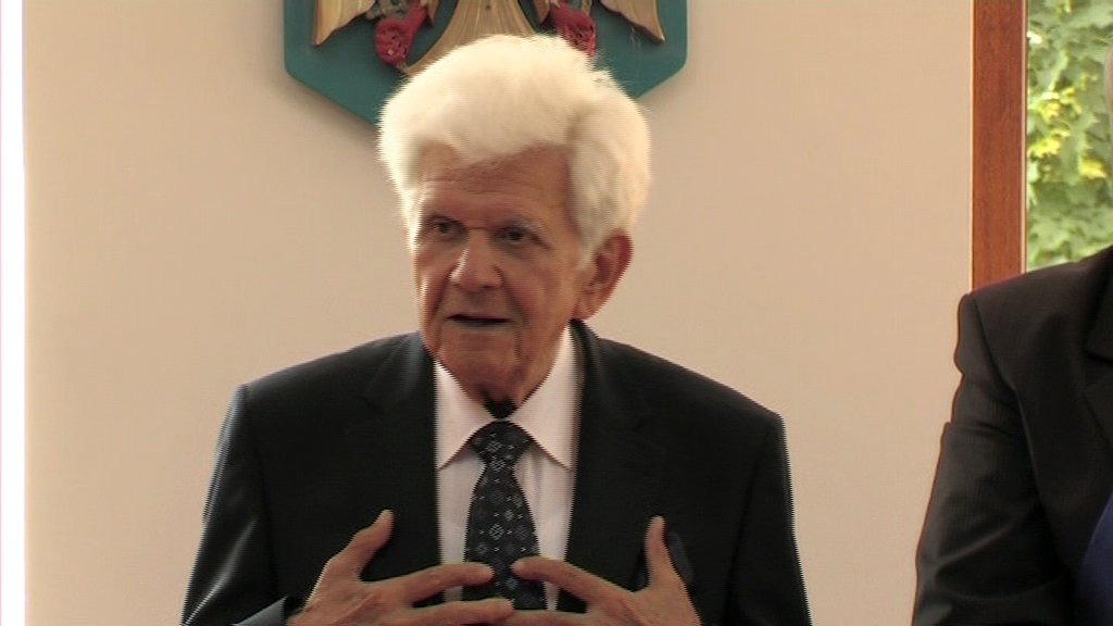 Ludovic Bács – Cetățean de onoare al orașului Petrila