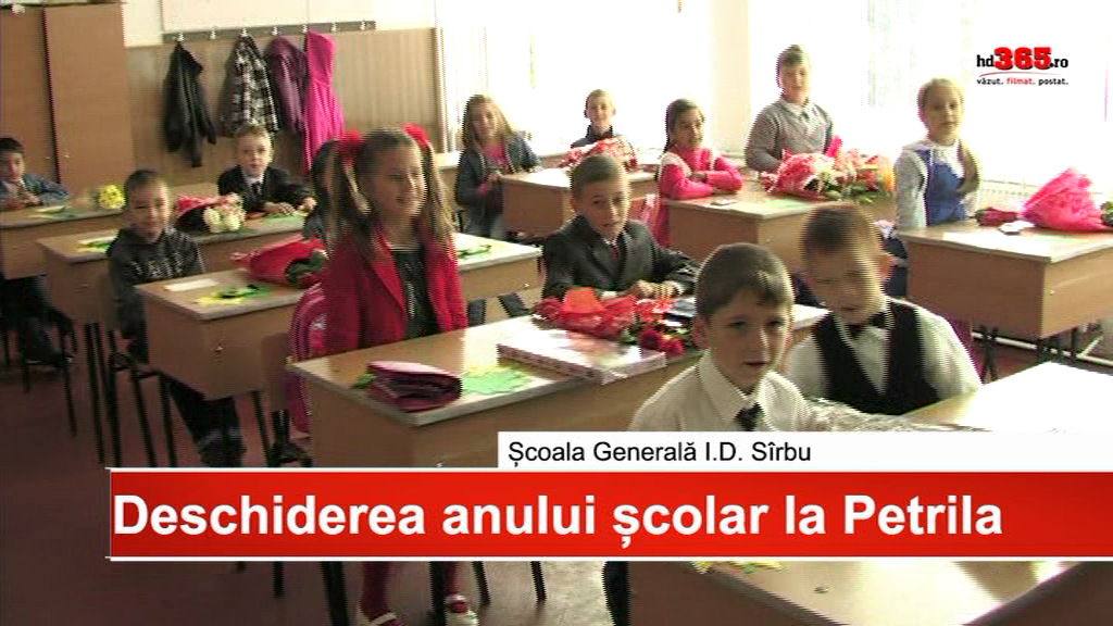 Deschiderea noului an scolar la Petrila