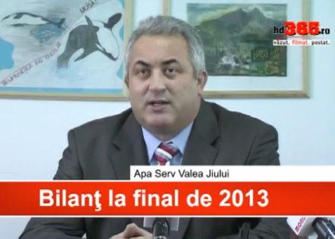 Apa Serv – Bilant la final de 2013