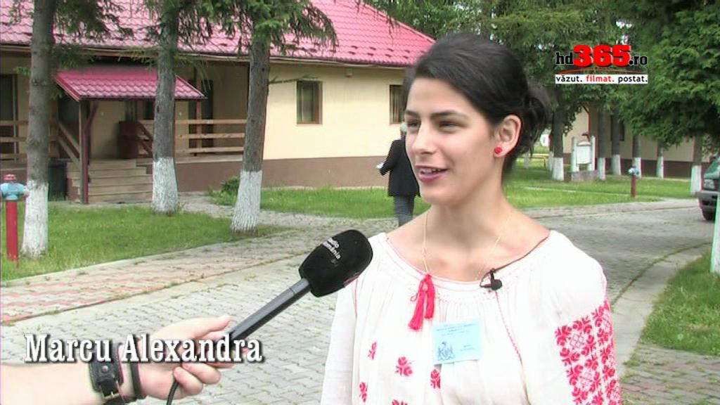 Interviu în exclusivitate cu Alexandra Marcu
