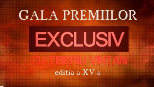 Gala Premiilor Exclusiv – 2015 (prima parte)