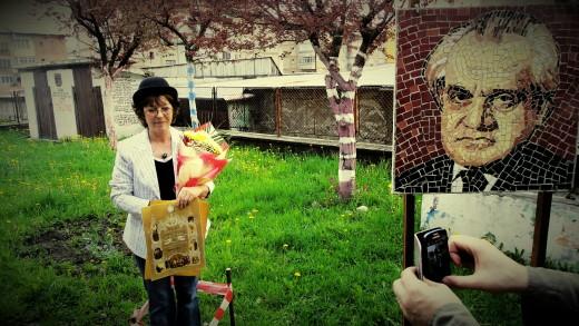 Mariana Codruț în Colonia Literară Petrila