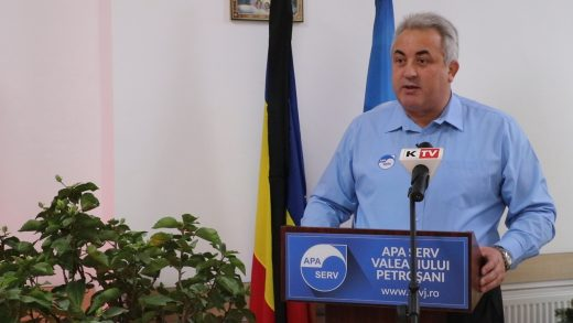 Conferință de presă la Apa Serv