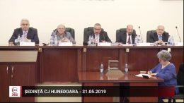 Ședința Consiliului Județean Hunedoara – mai