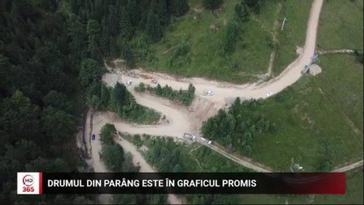 Drumul din Parâng este în graficul promis