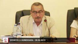 Ședința CJ Hunedoara – 28 iunie 2019