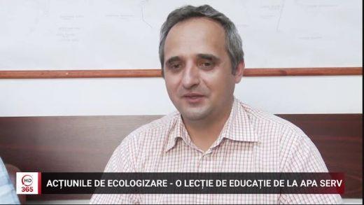 Acțiunile de ecologizare, o lecție de educație de la Apa Serv