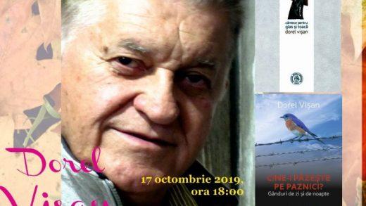 Dorel Vișan, oaspete al Salonului Hunedorean al Cărții