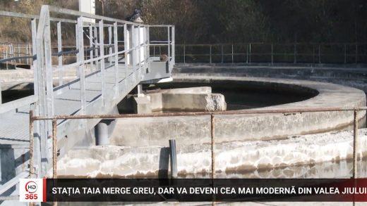 Stația Taia merge greu, dar va deveni cea mai modernă din Valea Jiului