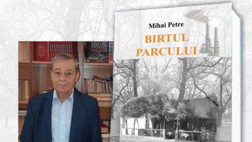"""Lansare de carte: """"Birtul parcului"""""""