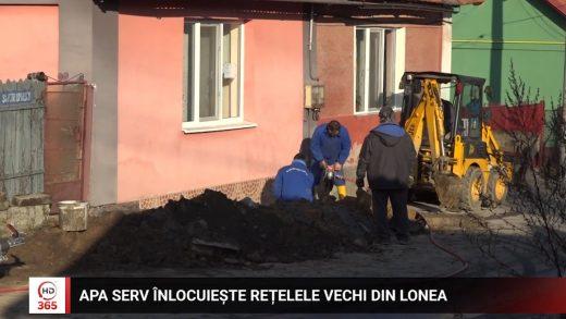 Apa Serv înlocuiește rețelele vechi din Lonea