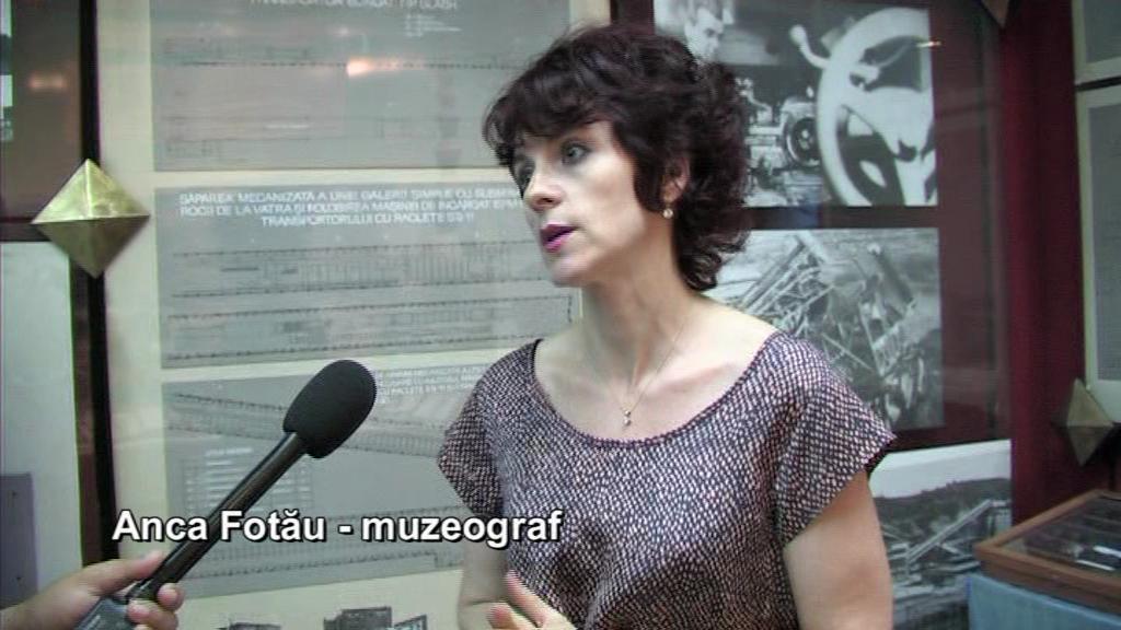 Anca Fotău – Muzeul Mineritului
