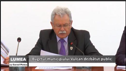 Vulcan: dezbaterea bugetului