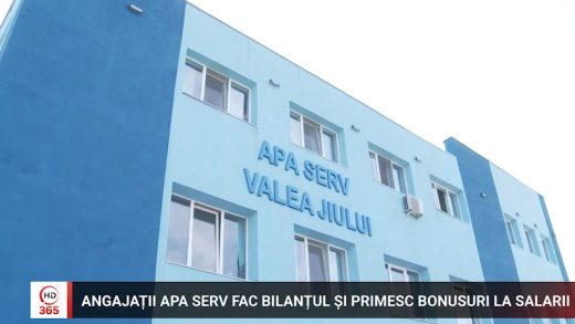 Angajații Apa Serv fac bilanțul și primesc bonusuri la salarii